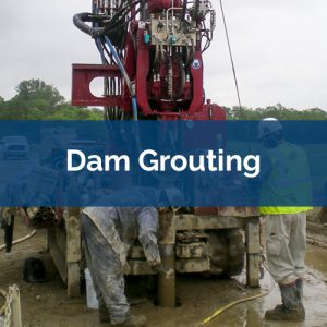 grouting dam grouting