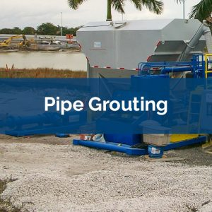 grouting pipe grouting