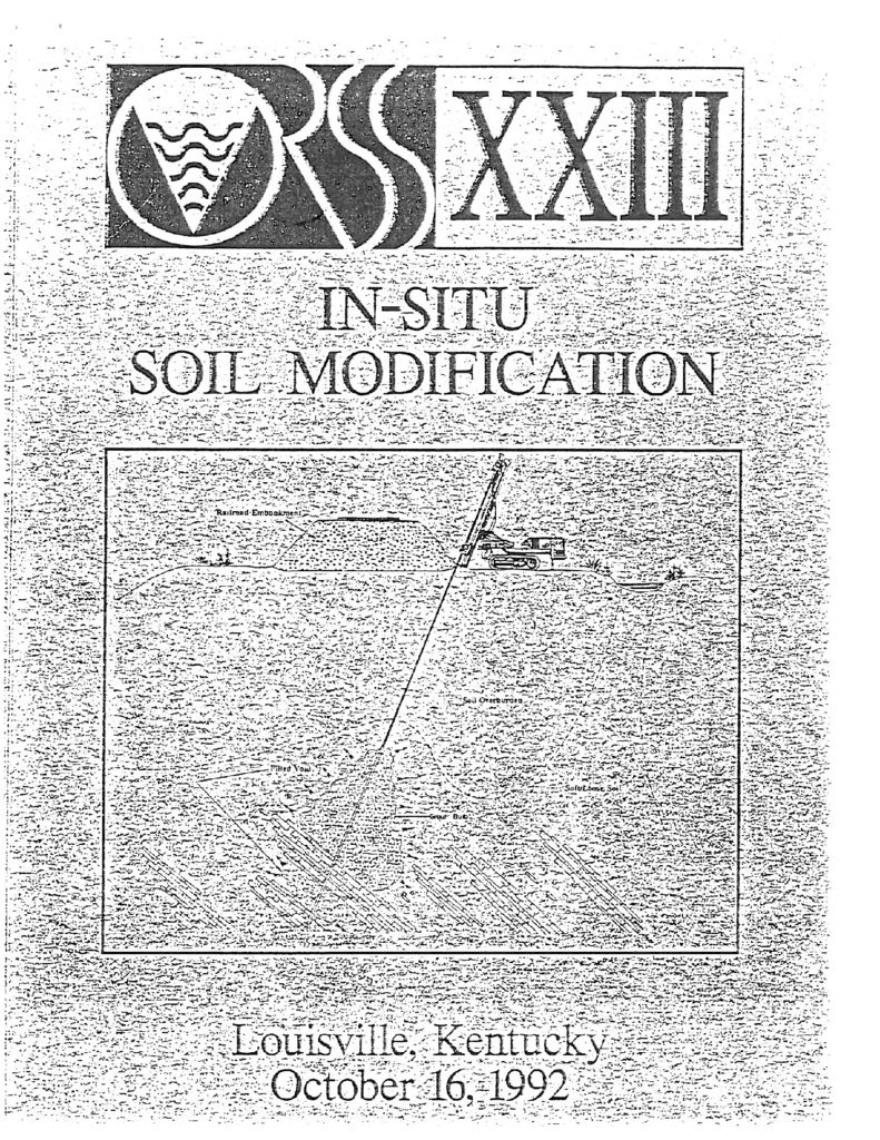 """permeability of soil essay Technical papers soil compaction and """"principles of permeability testing of soils,"""" astm symposium on permeability of soils, astm special technical."""