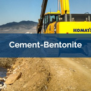 slurry walls cement-bentonite