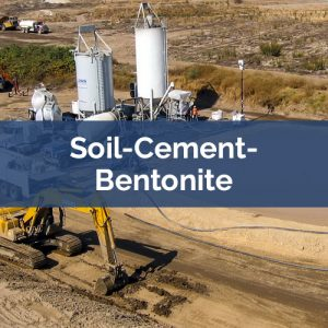slurry walls soil-cement-bentonite