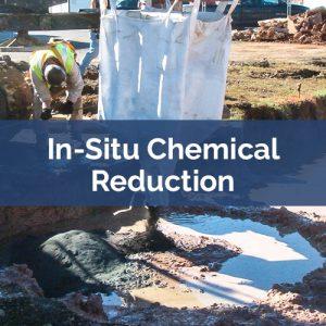 soil mixing in-situ chemical reduction