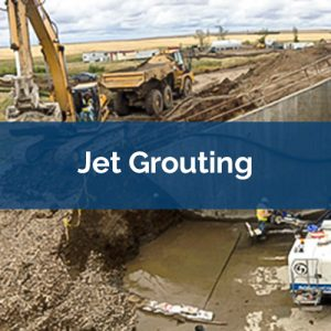 grouting jet grouting