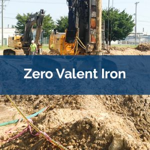 soil mixing zero-valent-iron