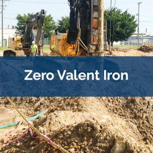 soil mixing zero-valent-iron