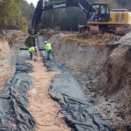 Warner robins ga soil vapor extraction barrier trench for Soil vapor extraction