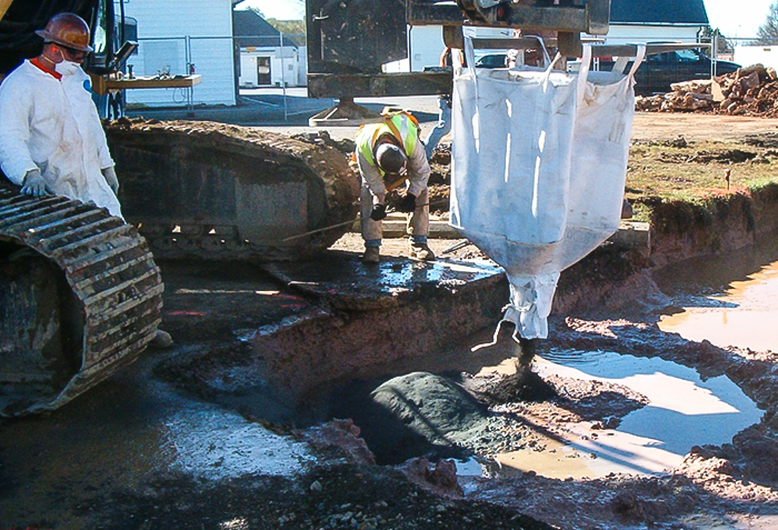 soil mixing in-situ chemical reduction warrenton
