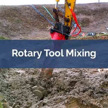 application feature rotary tool mixing