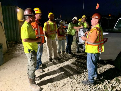 Site Safety Meeting