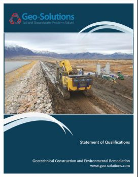 Geo-Solutions' Statement of Qualifications